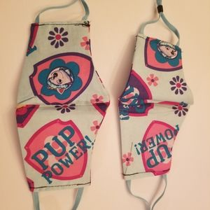 handmade Accessories - Paw patrol, pup power kids masks